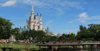 Das Walt Disney World Resort besteht aus vier verschiedenen Parks und ist somit der größte Freizeitpark weltweit.