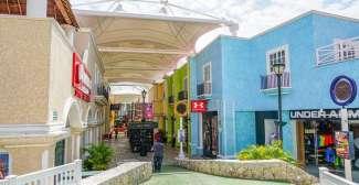 Das Zentrum von Cancun, Mexico