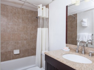 Badkamer in het Adante Inn Sedona.