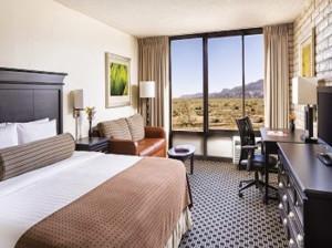 Voorbeeld kamer Monument Valley Inn Kayenta