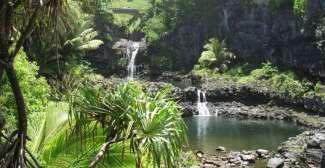 Maui Wasserfälle und Pools