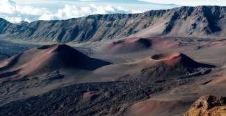 Sonnenaufgänge auf dem Haleakala Krater
