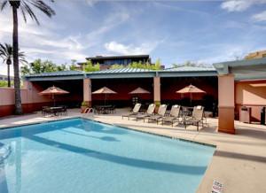 Hyatt Place Scottsdale terras zwembad