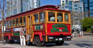 Vancouver Sightseeing Tour per Trolley