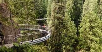Cliffwalk im Capilano Suspension Bridge Park