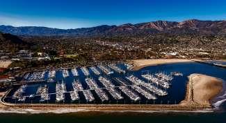 De jachthaven van Santa Barbara.
