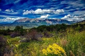 Die imposanten Rocky Mountains beginnen in New Mexico und ziehen sich bis nach British Columbia in Kanada.