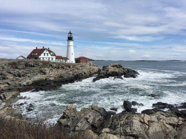 Alter Leuchtturm in Maine