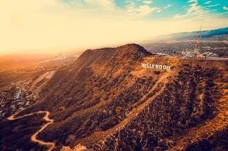 Das berühmte Hollywood Sign ist schon lange das Wahrzeichen von Los Angeles und der Filmindustrie.