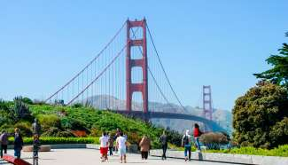 Die Golden Gate Bridge war auch schon in vielen Filmen zu sehen wie z.B. Godzilla oder Superman.