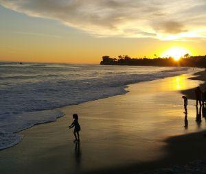Die Küste von Santa Barbara