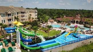 Die Poolanlage des Resorts Windsor Hills.