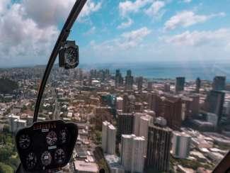 Helikopterrundflug Waikiki