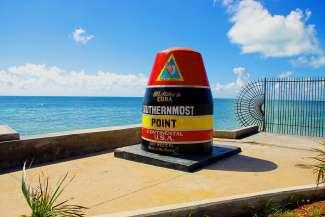 Eines der berühmtesten Sehenswürdigkeiten in Key West (südlichster Punkt der USA).
