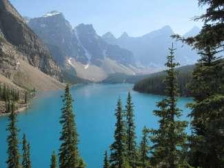 Moraine Lake im Banff Nationalpark Kanada