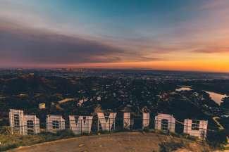 Ein wunderschöner Ausblick über Los Angeles.