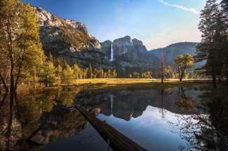 Ausblick im Yosemite Valley, Kalifornien