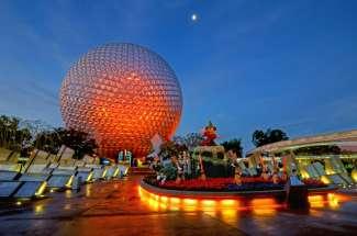 Das Epcot Center gehört zum Walt Disney World Resort.