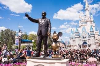 Das Walt Disney World Resort besteht aus vier Freizeitparks.