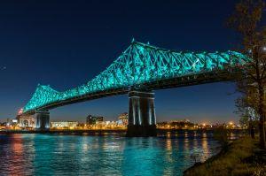 Pont Jacques-Cartier Brücke, Montreal