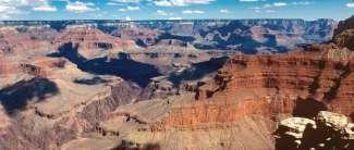 Der Grand Canyon National Park gehört mit seinen farbenprächtigen Felsen und überwältigenden Schluchten zu den berühmtesten National Parks der USA.