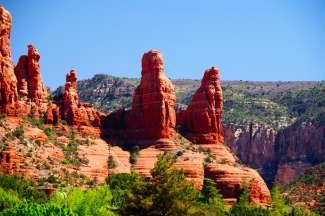Die Felsformationen im Red Rock State Park sind besonders beeindruckend bei Sonnenaufgang und Sonnenuntergang.