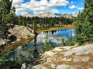 Die Big Horn Mountains liegen an der Grenze zwischen Wyoming und Montana.
