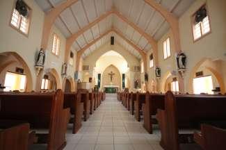 Kirche in St Maarten