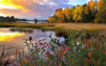 Landschaft in Quebec
