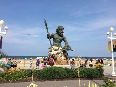 Neptun Statue, Virginia Beach