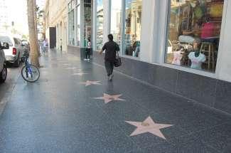 Bei einem Besuch in Los Angeles, sollte eine Besuch zum Walk of Fame nicht fehlen.