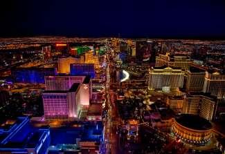 Las Vegas bei Nacht ist unbeschreiblich und muss selbst erlebt werden