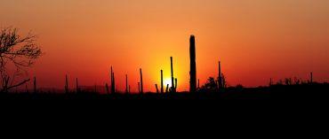 Sonnenuntergang in Yuma