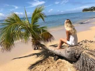 Der Kahala Beach direkt am Kahala Hotel zählt zu den schönsten Stränden von Hawaii