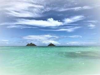 Einer der schönsten Strände auf Oahu